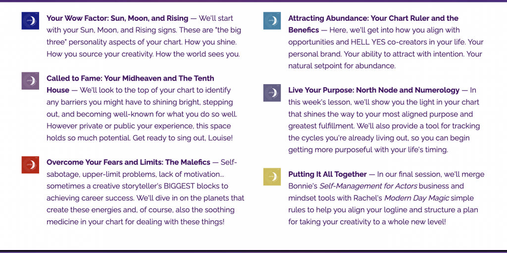 Astrology for Creatives by Bonnie Gillespie and Rachel Lang